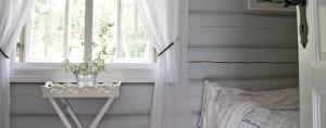 hytte soverom lyseblå